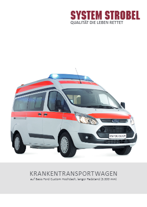 Krankentransportwagen Ford Custom